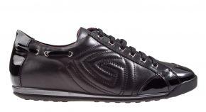 La Cabala L902026-1049 zwart leer veterschoen