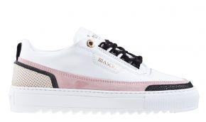 Mason Garments Firenze 15A White/Pink/Creme/Black sneaker