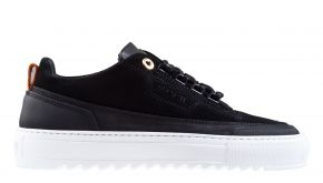 Mason Garments Firenze 15A Leather Nubuck black sneaker