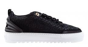 Mason Garments Firenze 1B Nubuck/suède black sneaker