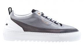 Mason Garments Firenze 3H Leather/Nubuck Darkgreysneaker.