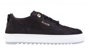 Mason Garments Firenze 4D nubuck black/grey sneaker