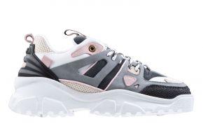 Mason Garments Genova 2 15E Cement/White/Pink/Creme/Black sneaker
