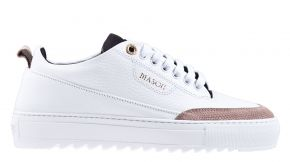 Mason Garments Torino 16A Leather/Stamp White/Creme wit sneaker
