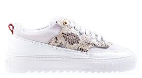 Mason Garments Torino 26A Suède/Leather white sneaker