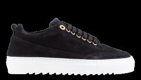 Mason Garments Torino 26B suède black sneaker
