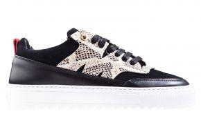 Mason Garments Torino 26B Suède/Leather black sneaker