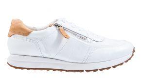 Paul Green 4085-048 wit leer sneaker