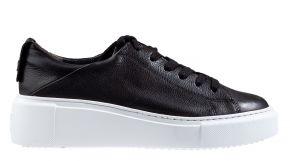 Paul Green 4836-078 zwart leer sneaker