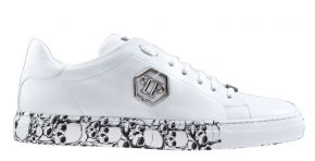 Philipp Plein MSC2829 wit Lo-Top sneaker