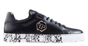 Philipp Plein MSC2829 zwart Lo-Top sneaker