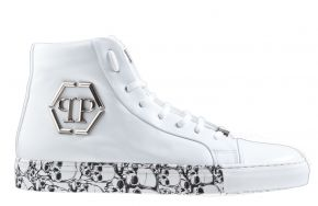 Philipp Plein MSC2830 wit Lo-Top sneaker