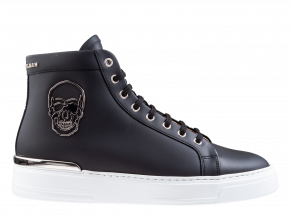 Philipp Plein MSC 3134 zwart Hi-Top Sneakers Skull