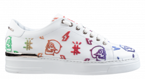 Philipp Plein MSC 3150 multicolor wit Lo-Top Sneakers Colorful Monogram