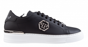 Philipp Plein MSC 3157 zwart Lo-Top Sneaker Hexagon