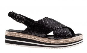 Pons Quintana 9093 zwart sandaal.