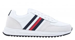 Tommy Hilfiger Modern Corperate Leather Runner