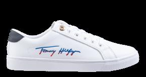 Tommy Hilfiger Signature Capsule wit veterschoen
