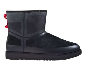 UGG Classic mini urban Tech Weather zwart laars
