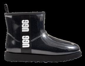 UGG Classic Clear Mini zwart enkellaars