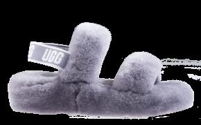UGG Oh Yeah grijs slipper